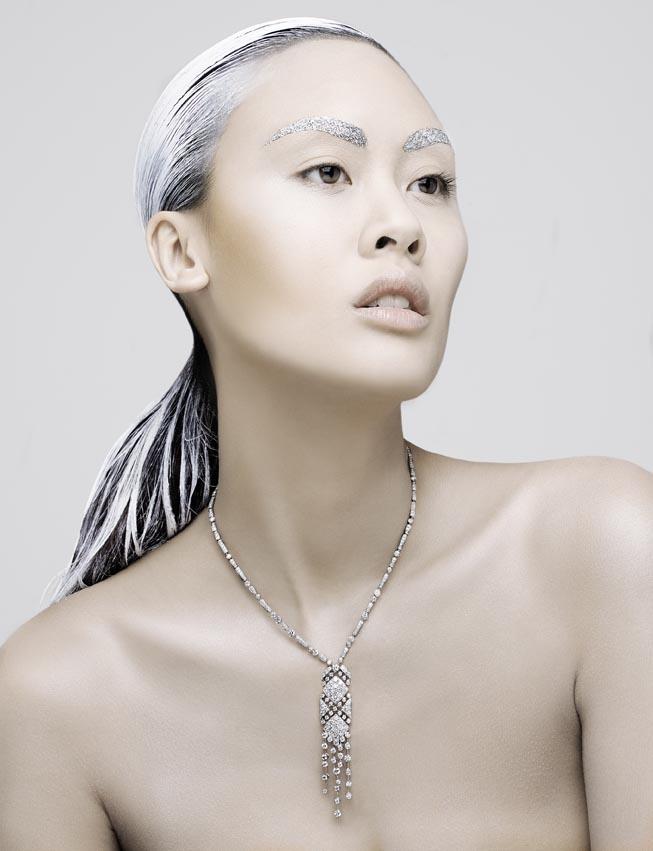 Collier en diamants blanc, Chanel Joaillerie