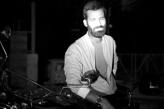 On Pranav Cotton bomber, Huemn Project Jeans, Korra T-Shirt American Apparel