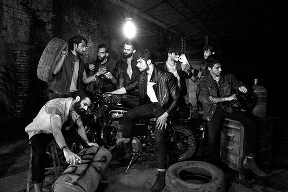 On Pranav waistcoat, Dhruv Vaish t-shirtAmerican apparel jeans Korra  , On Himanshu waistcoat, Korra  jeans, Korra necklace, Rajesh Pratap Singh On Ashok waistcoat, Korra t-shirtAmerican apparel On Fakira leather and khadi jacket, Rajesh Pratap Singh On Himanshu Leather jacket Diesel and t-shirtAmerican apparel shoes G -star jeans, Korra rings, Rajesh Pratap Singh On Imran denim jacket, Korra jeans, Rajesh Pratap Singh t-shirtAmerican apparel skull necklace, Rajesh Pratap Singh On Sachin bomber jacket, Suket Dhir shirtAmerican apparel On Bharat jacket Levis, t-shirtAmerican apparel, jeans Lee Cooper,shoes Bellfield necklace, Rajesh Pratap Singh