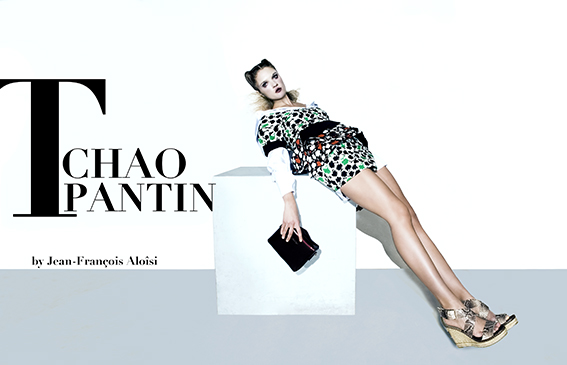 Chemise: KENTA Robe: EMANUEL UNGARO Chaussures CASTANER Sac POURCHET