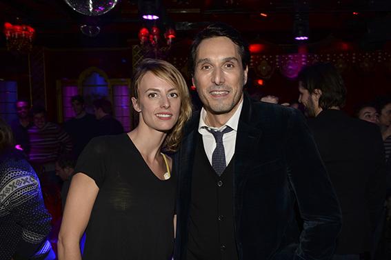 Sara Mortensen et Vincent Elbaz