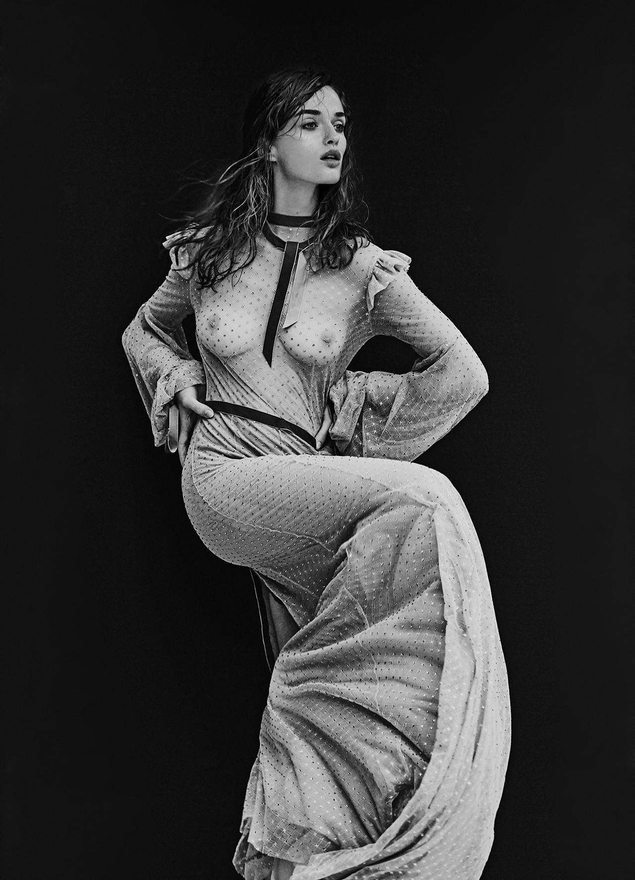 SWAROVSKI Silk Gown By JASON GRECH COUTURE