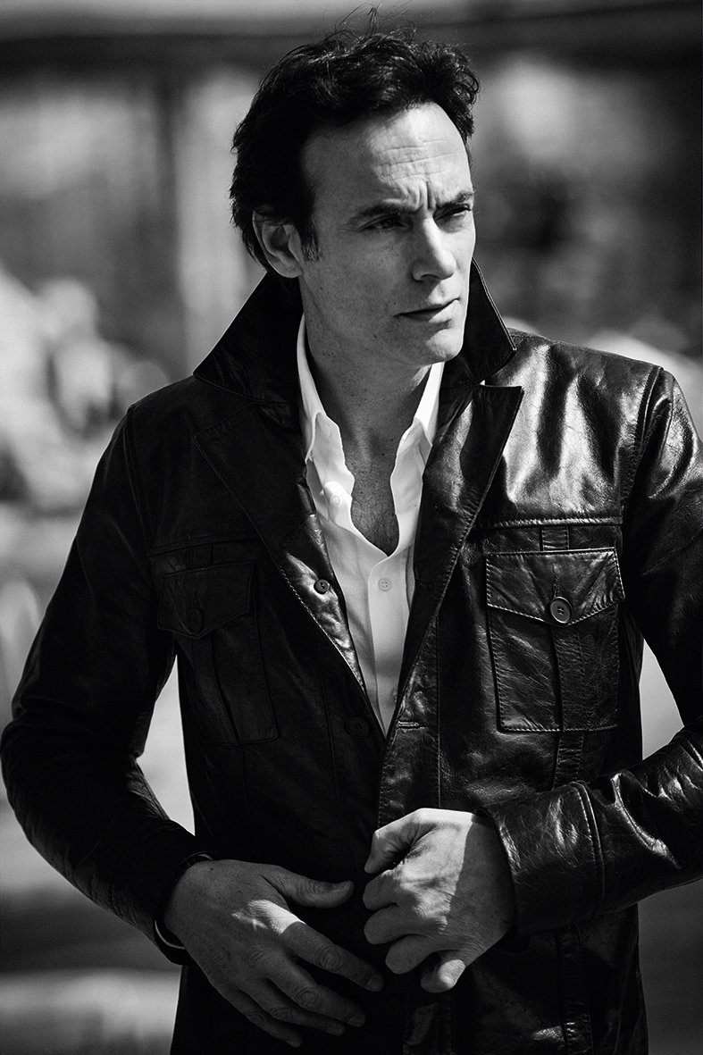 veste « mean street »: ANTHONY DELON 1985 Chemise: BRUNELLO CUCINELLI